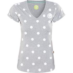 Edelrid Rockover - T-shirt manches courtes Femme - gris